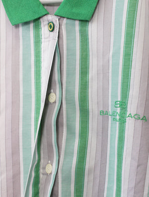 Balenciaga Button Down Polo Shirt (S)