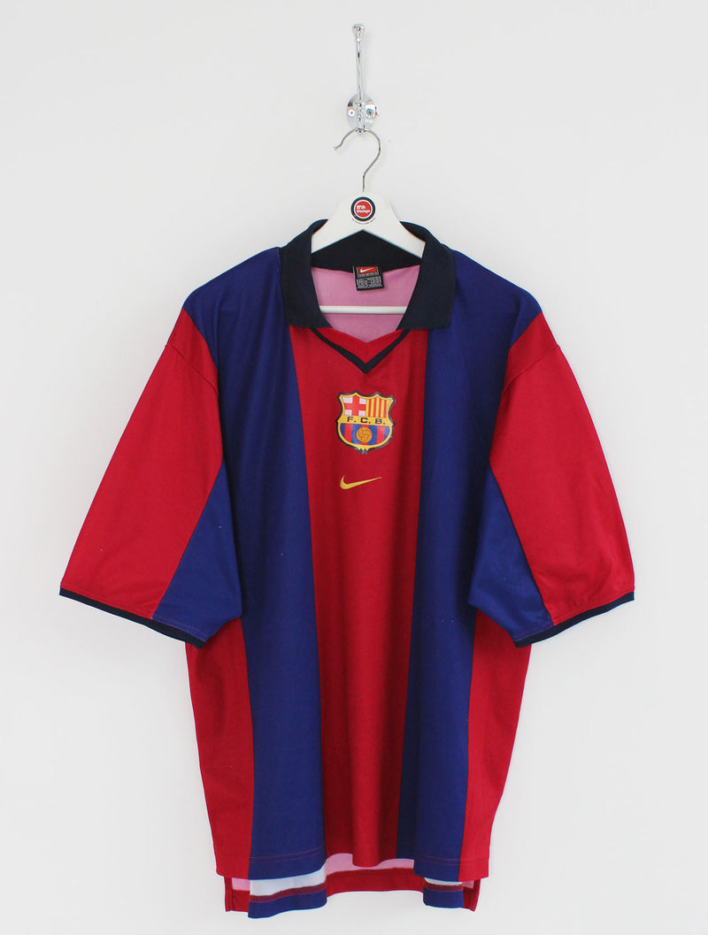 2000/01 Barcelona Football Shirt (L)