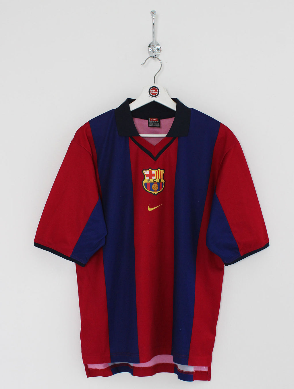 2000/01 Barcelona Football Shirt (S)