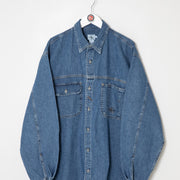 Calvin Klein Denim Shirt (XL)