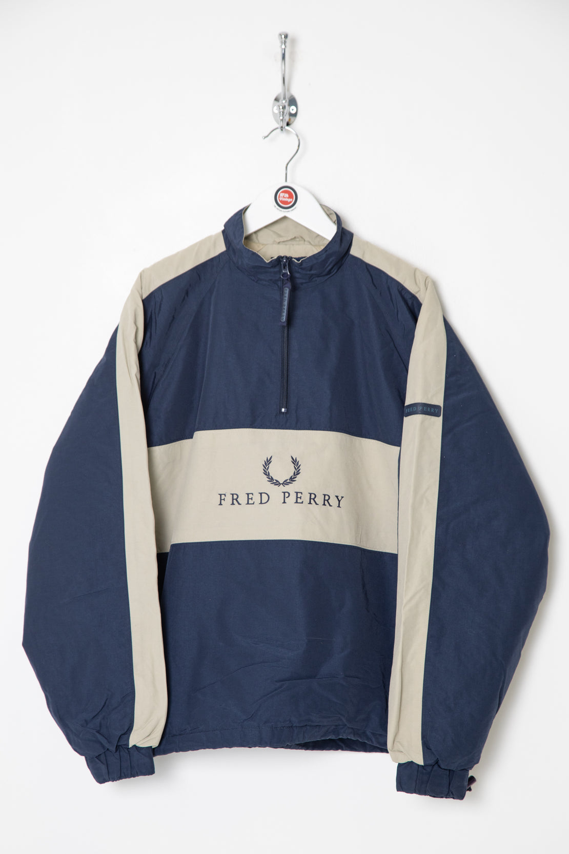 Fred Perry Fleece Lined Pullover (S)