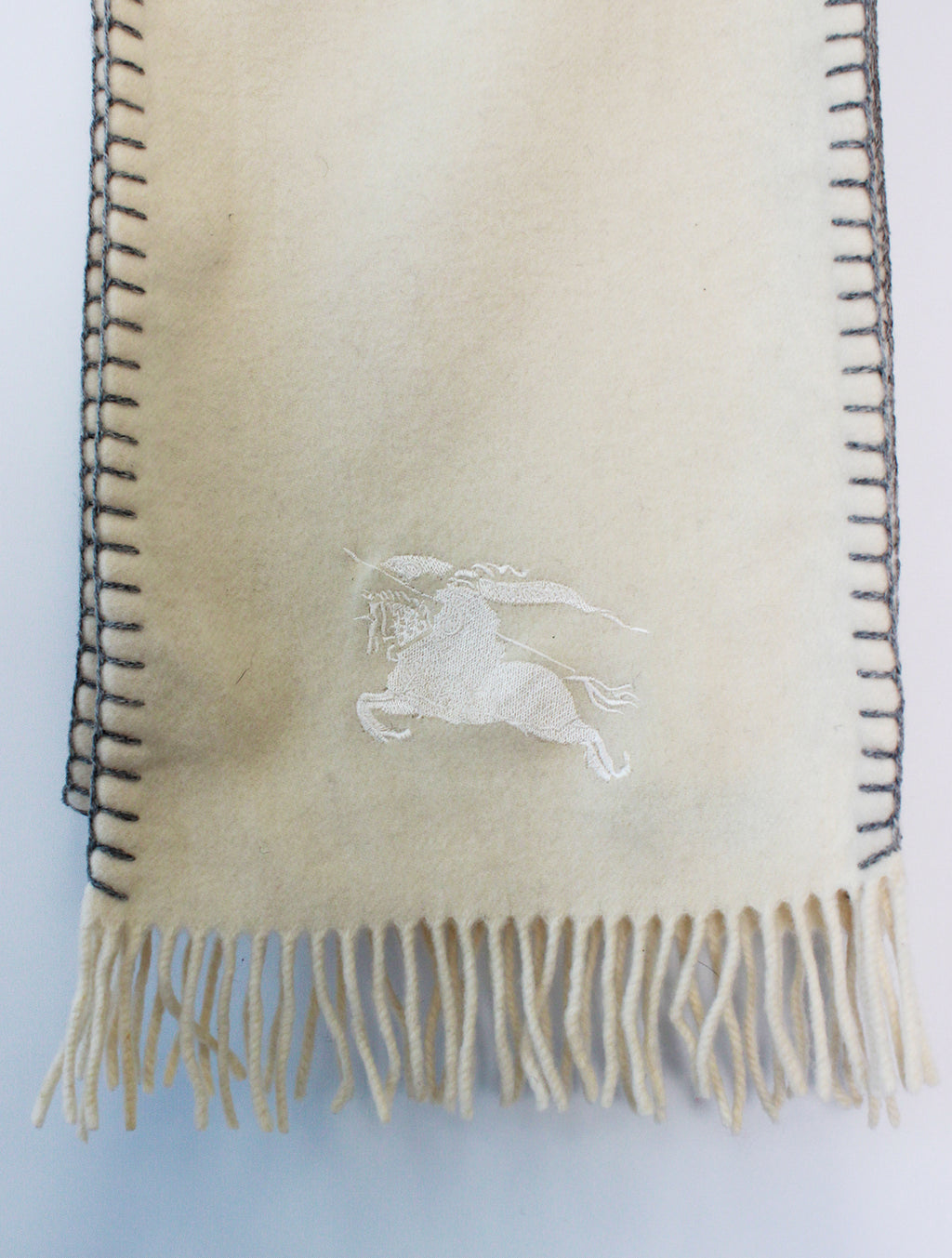 Burberry Scarf Lambswool Cream
