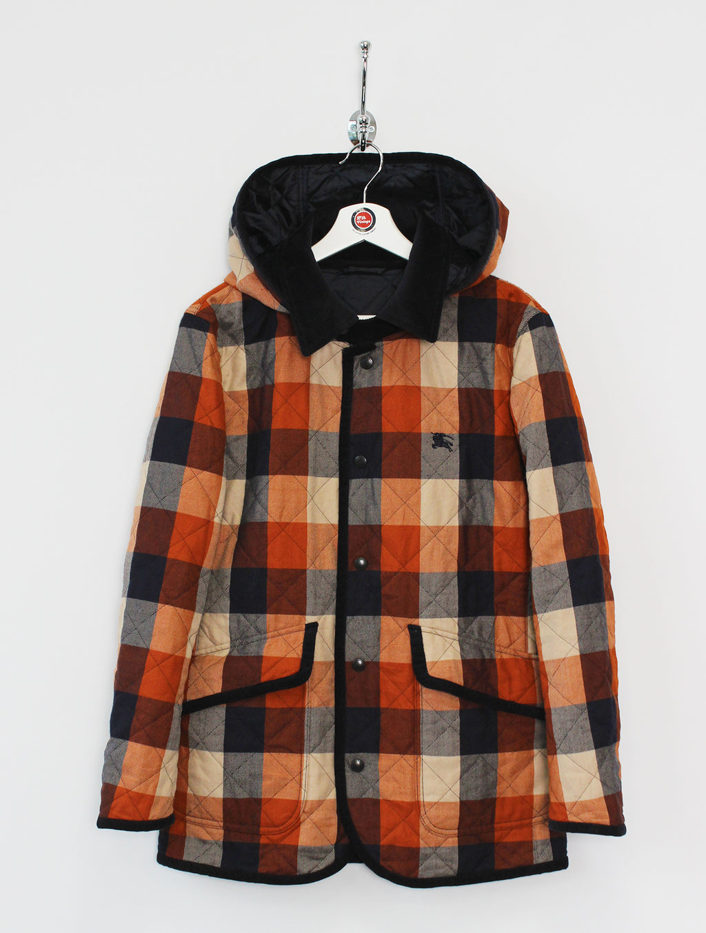 Burberry Quilted Coat (M)
