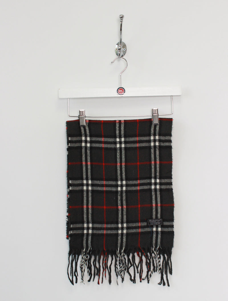 Burberry Scarf Cashmere Dark Grey
