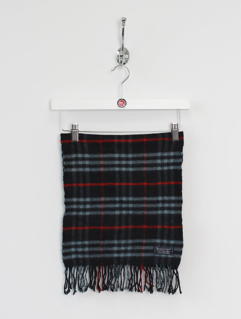 Burberry Scarf Cashmere Dark Navy
