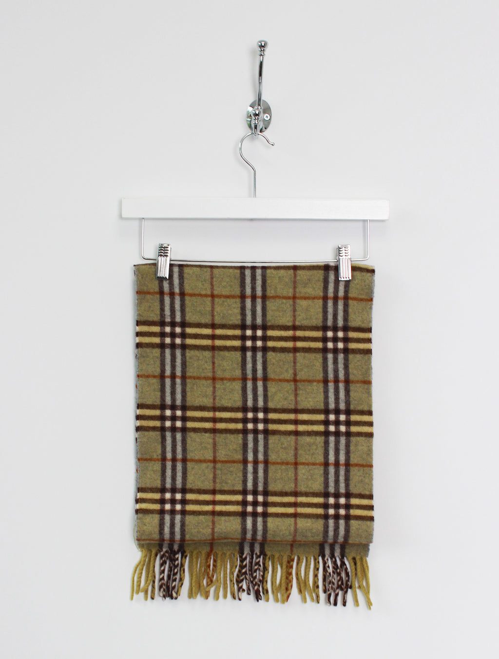 Burberry Scarf Cashmere Green