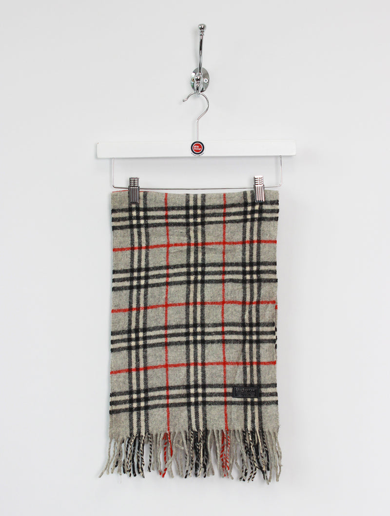 Burberry Scarf Lambswool Grey