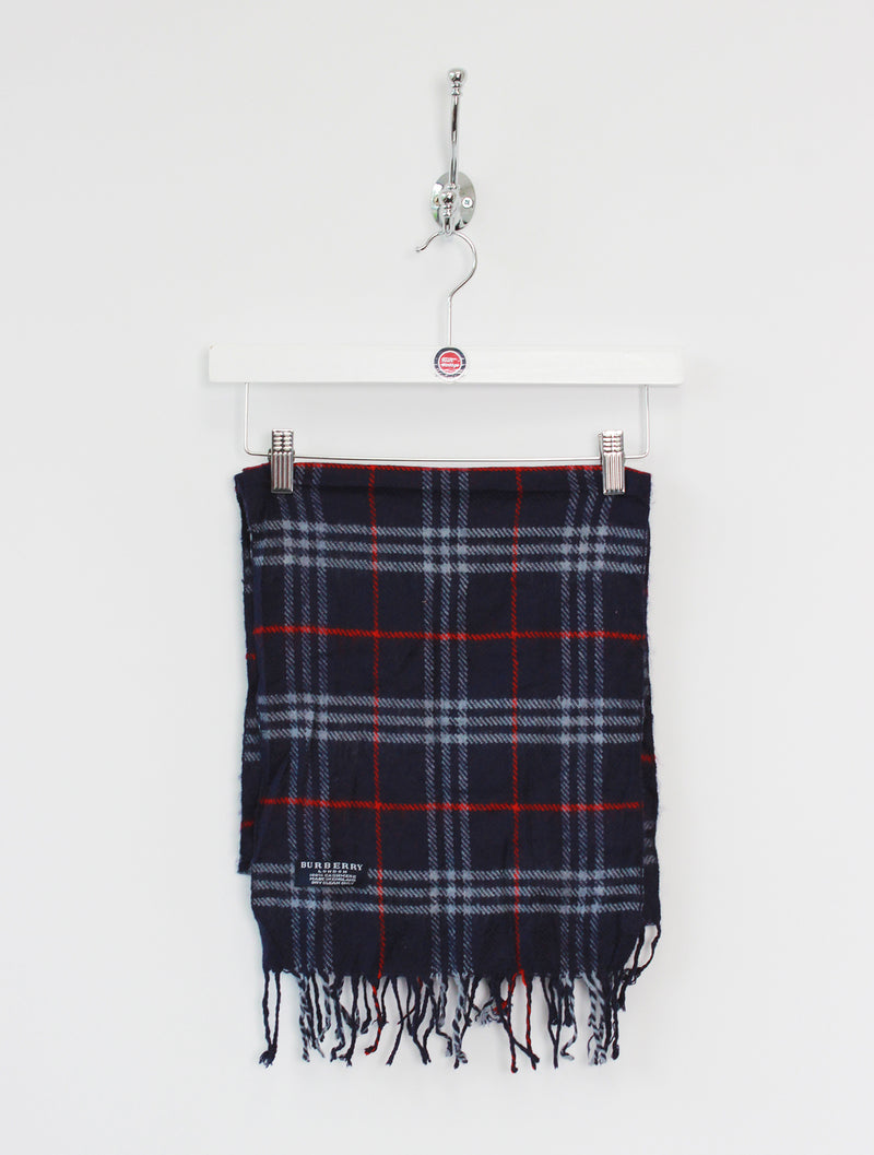 Burberry Scarf Cashmere Navy