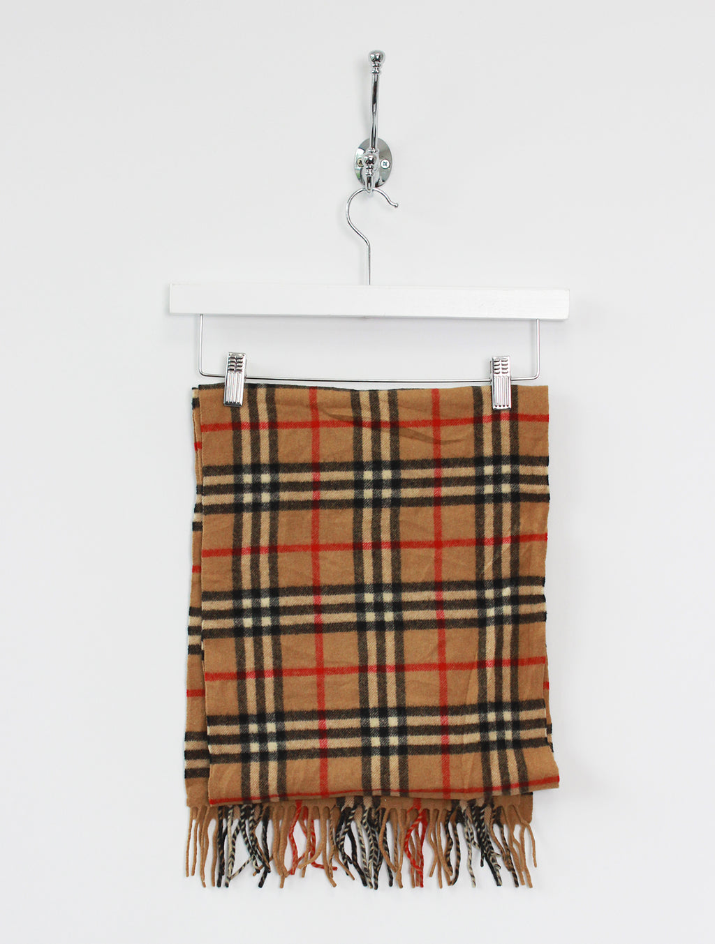 Burberry Scarf Nova Check Lambswool