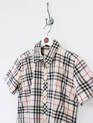 Women's Burberry Nova Check Shirt (M)