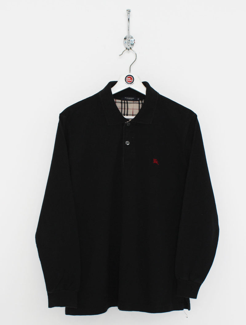 Burberry Longsleeve Polo Shirt (S)