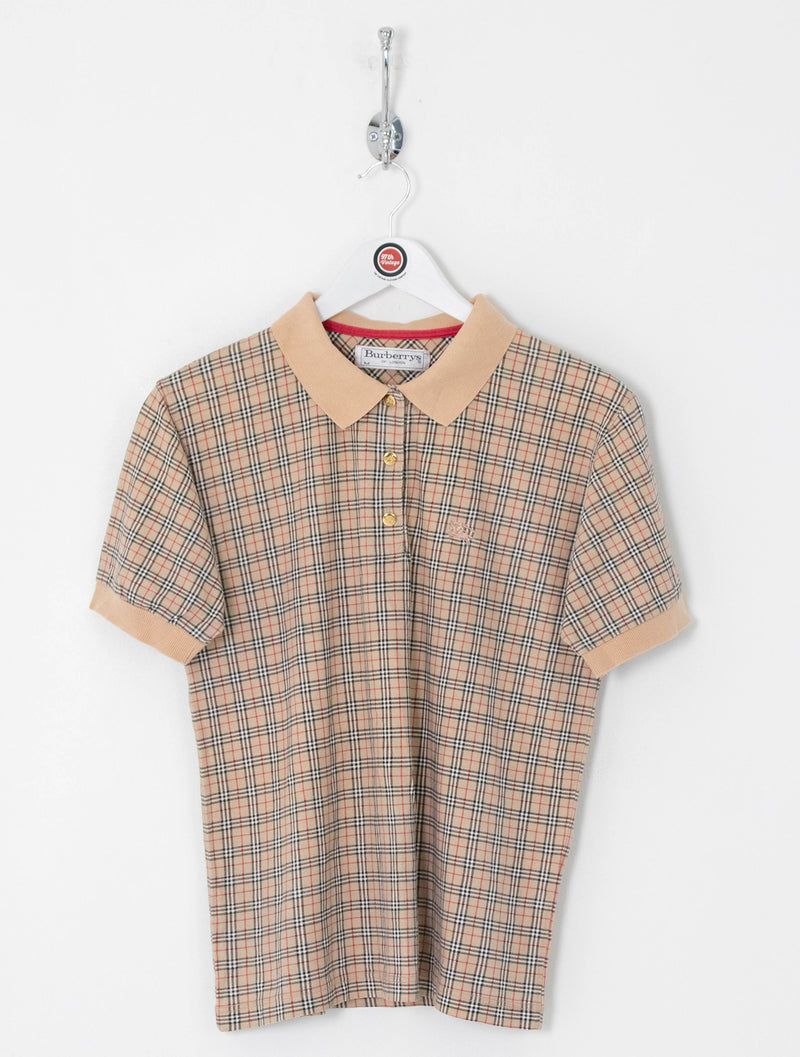 Women's Burberry Polo Shirt (M)