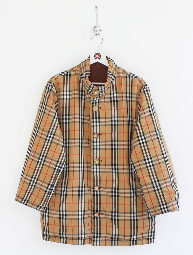 Women's Burberry Reversible Jacket (L)