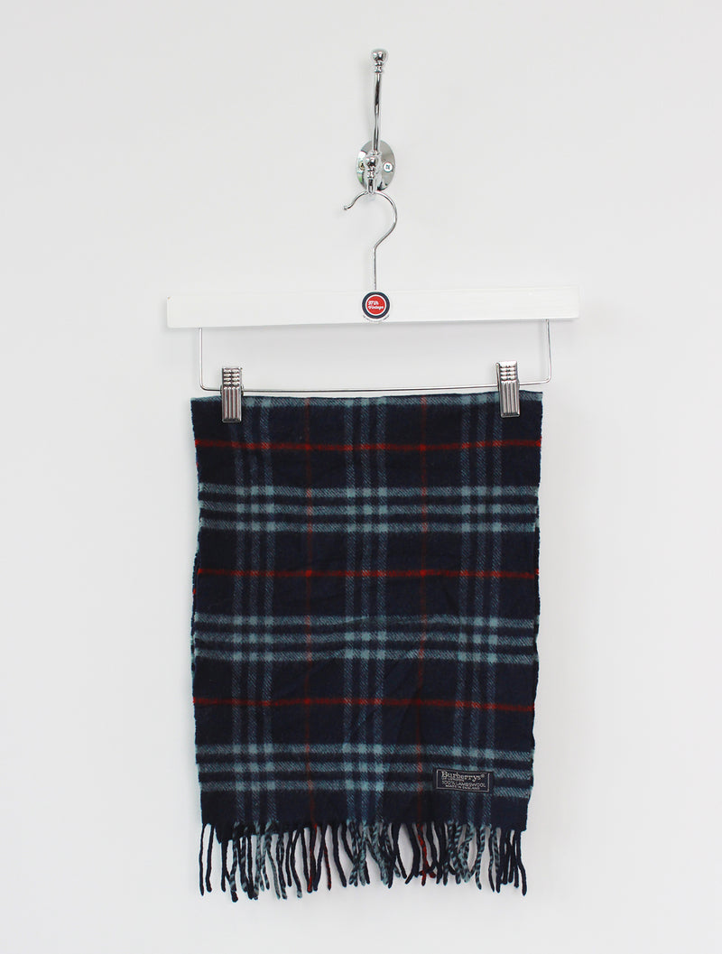 Burberry Scarf Lambswool Navy