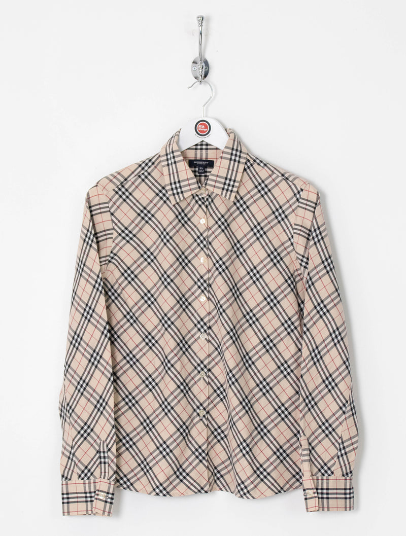 Women's Burberry Shirt (XL)