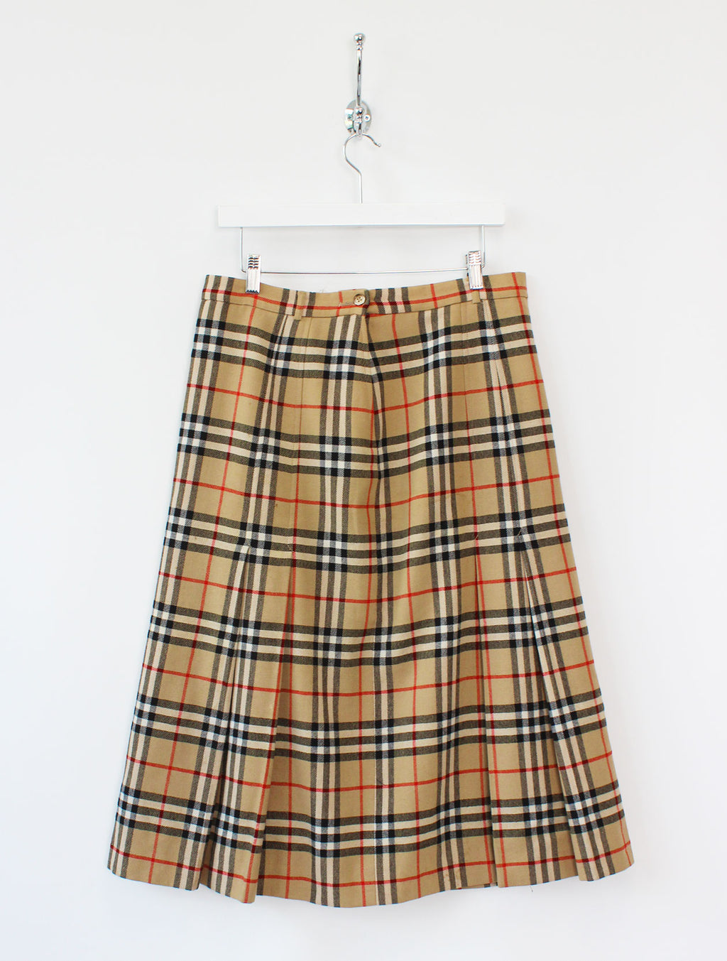 Women's Burberry Nova Check Wool Skirt