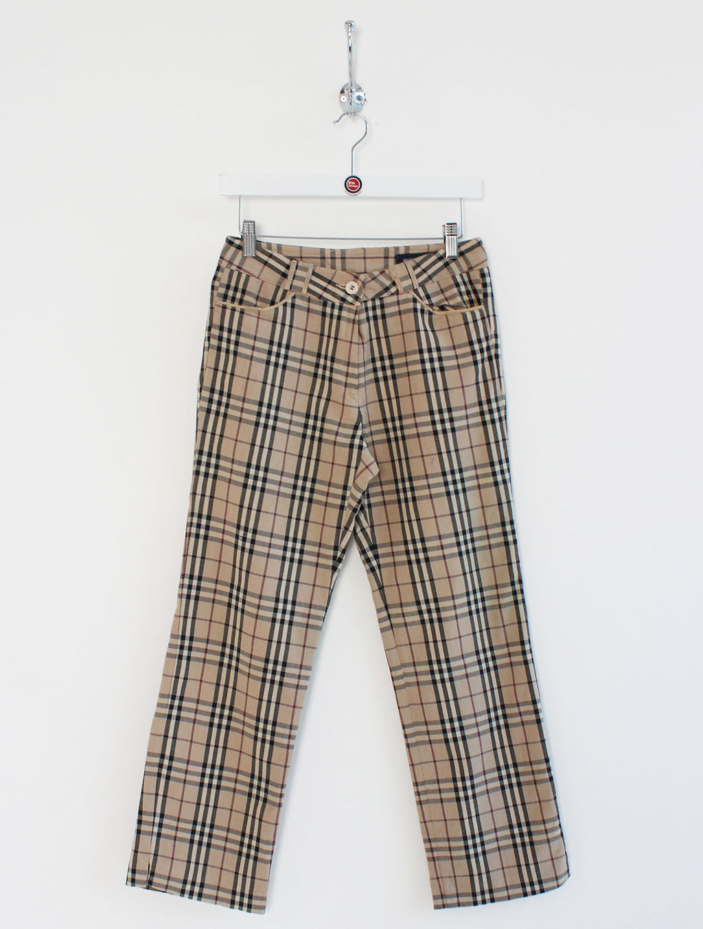 "Women's Burberry High Waisted Trousers (26"")"