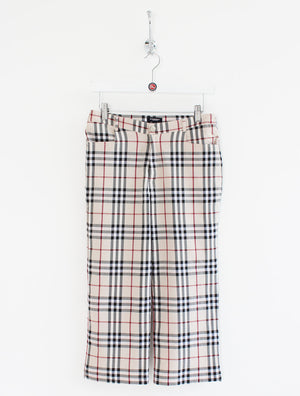 Women's Burberry High Waisted Trousers (L)