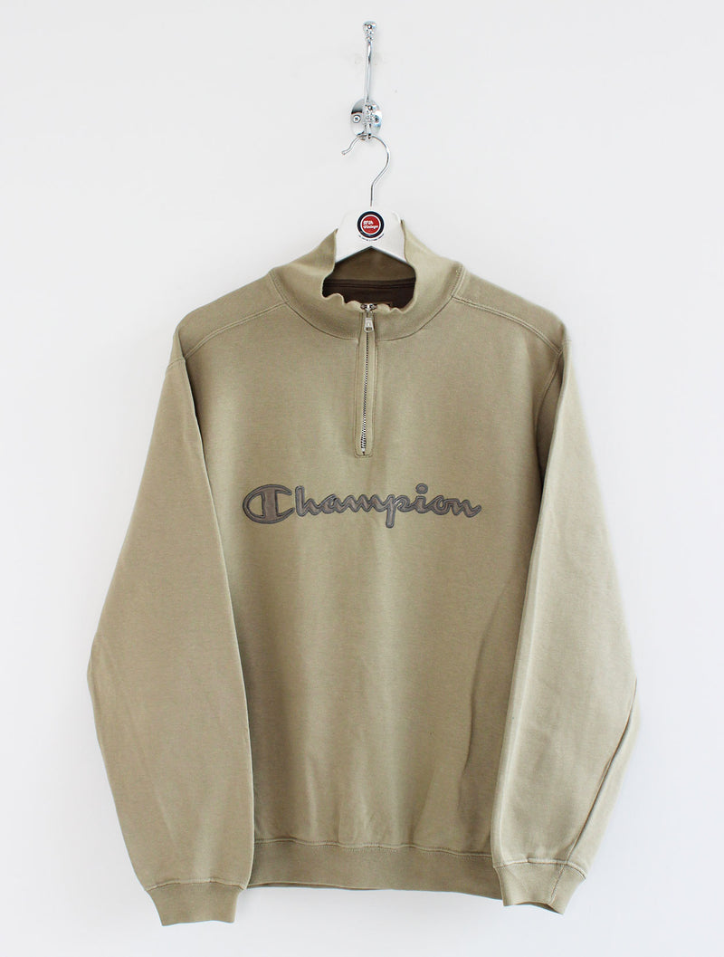 Champion 1/4 Zip Sweatshirt (S)