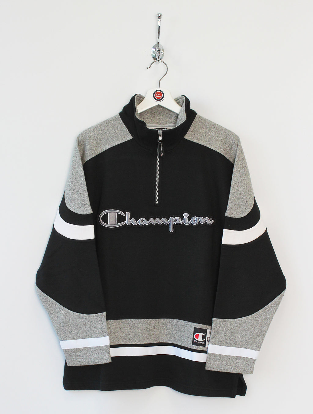 Champion 1/4 Zip Sweatshirt (M)