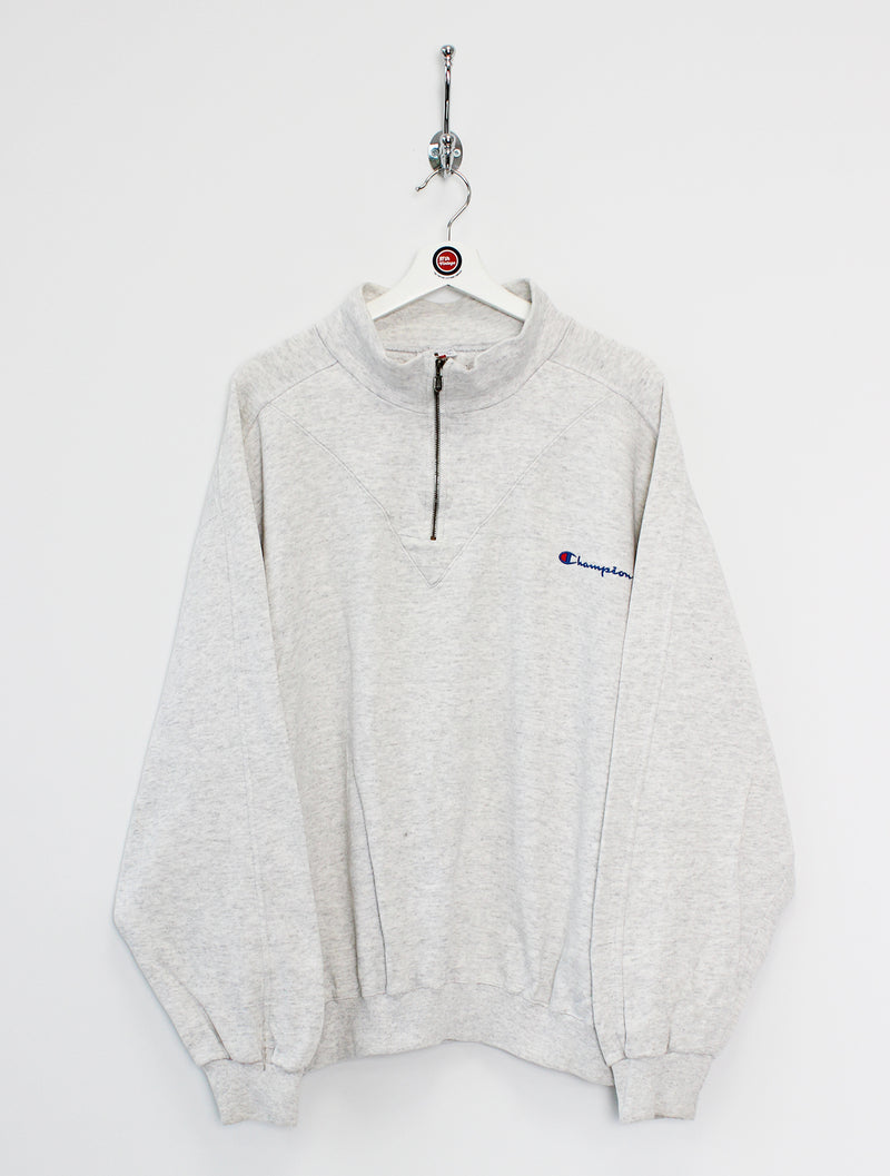 Champion 1/4 Zip Sweatshirt (XL)