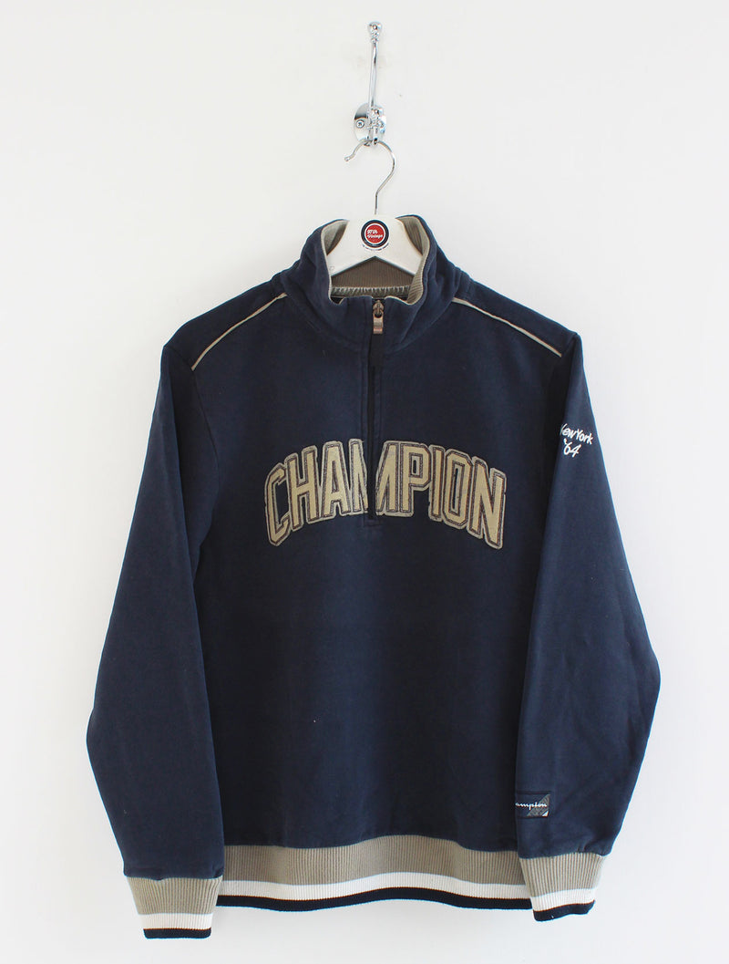 Women's Champion 1/4 Zip Sweatshirt (M)