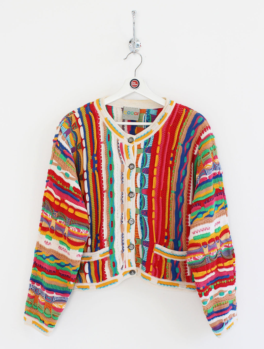 Women's Coogi Cardigan Jumper (M)