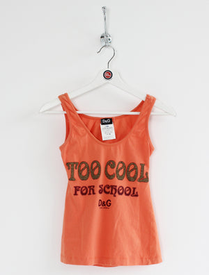 Women's D&G Vest Top (XS)