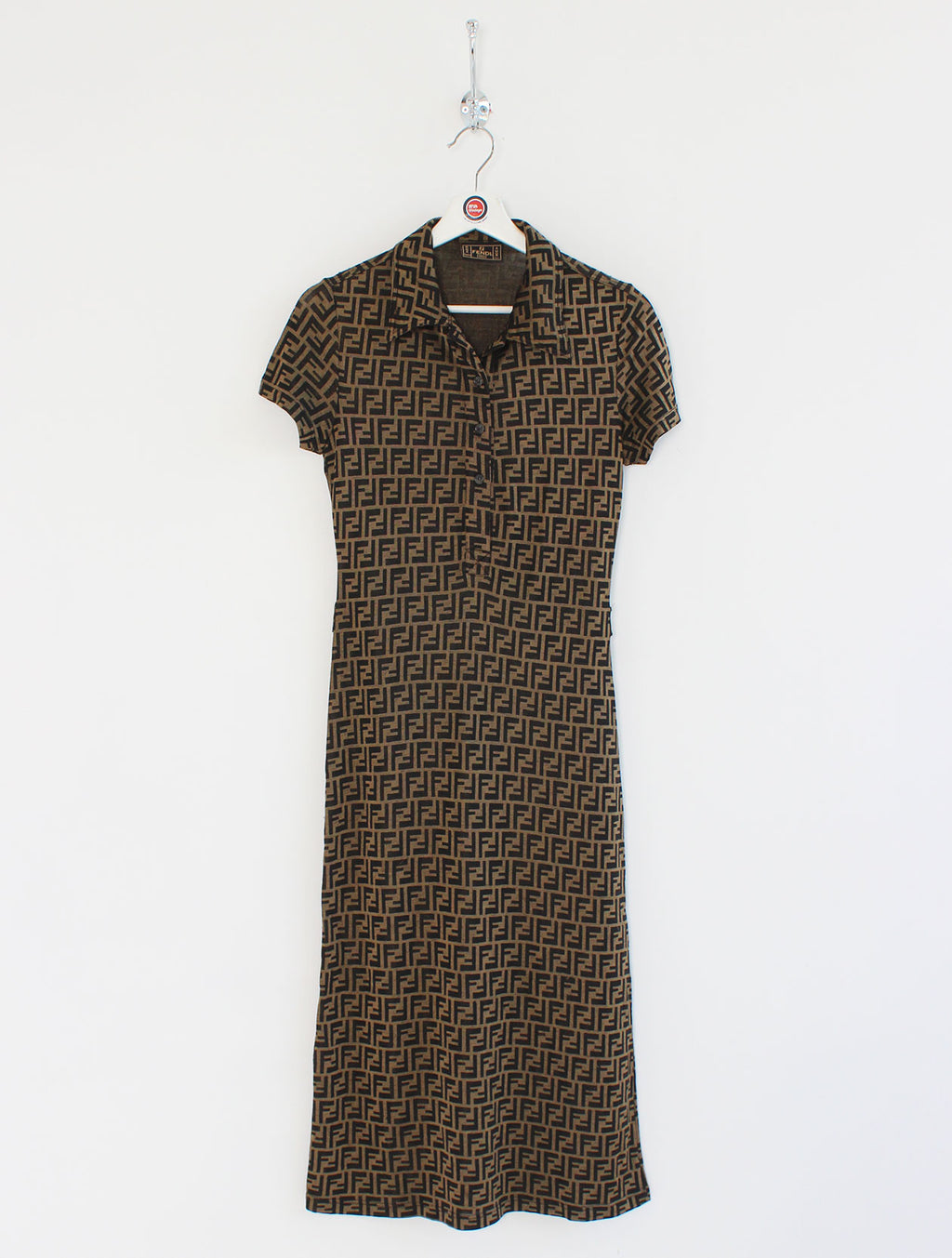 Women's Fendi Zucca Monogram Dress (S)