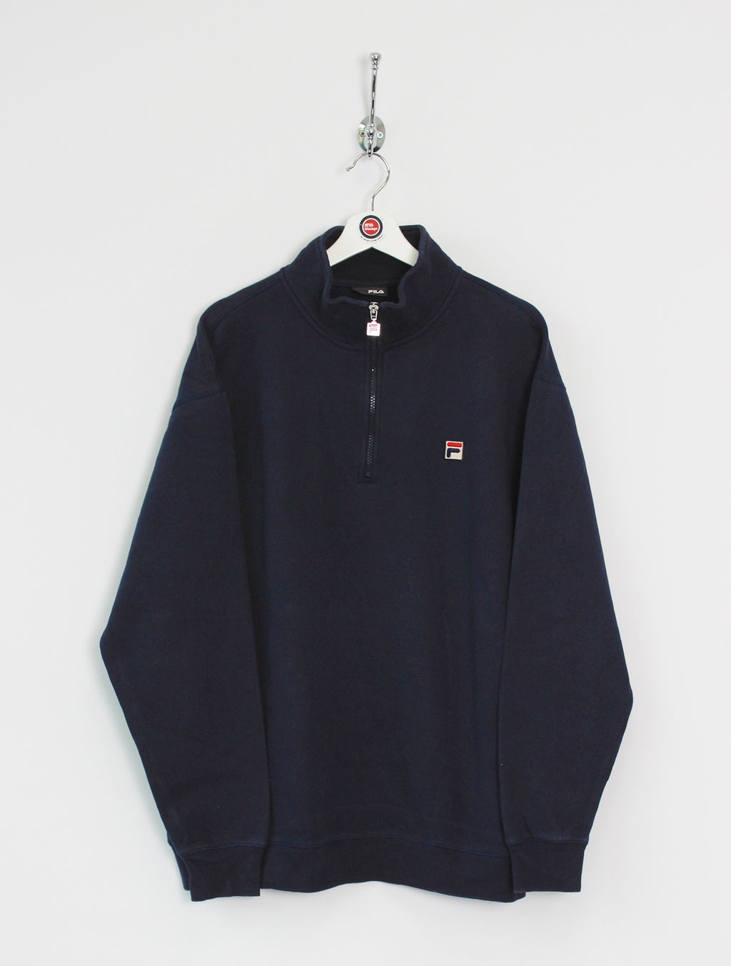 Fila 1/4 Zip Sweatshirt Navy (XL)