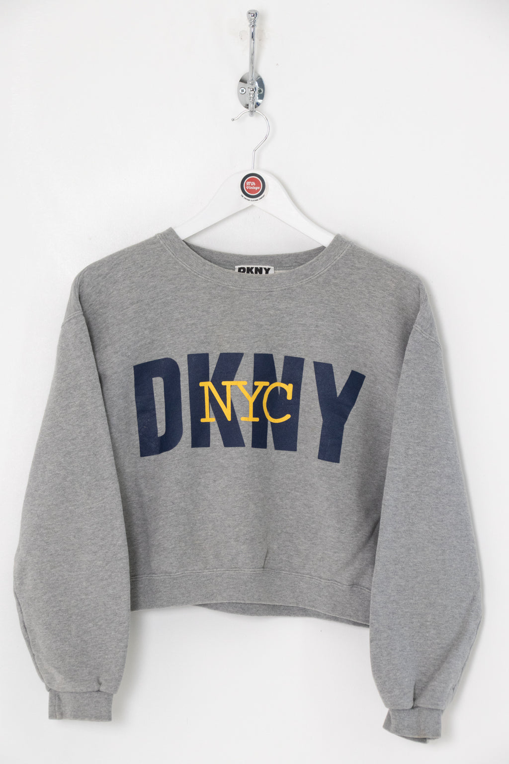 Women's DKNY Cropped Sweatshirt (S)
