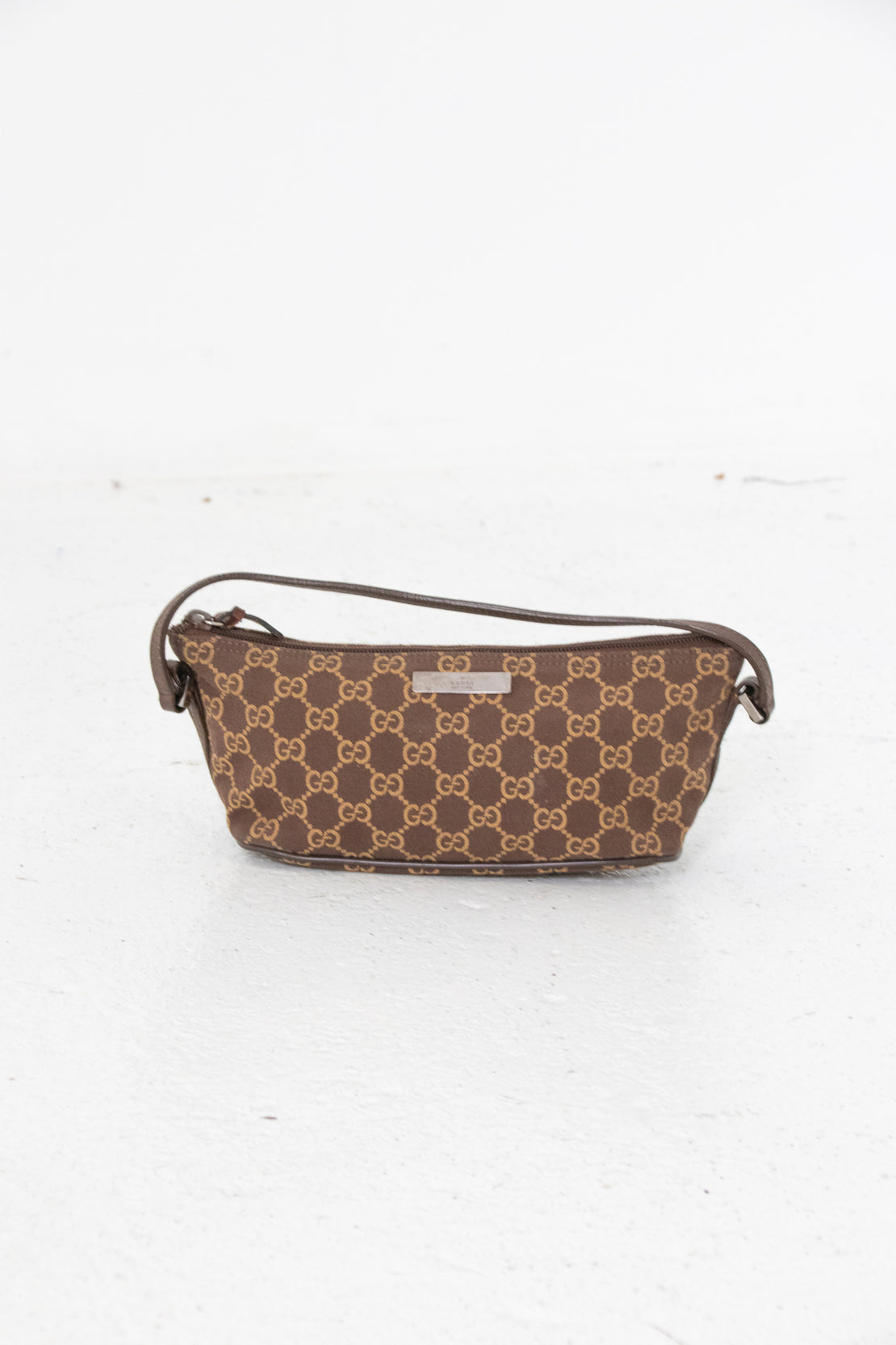 Gucci Monogram Pochette Shoulder Bag