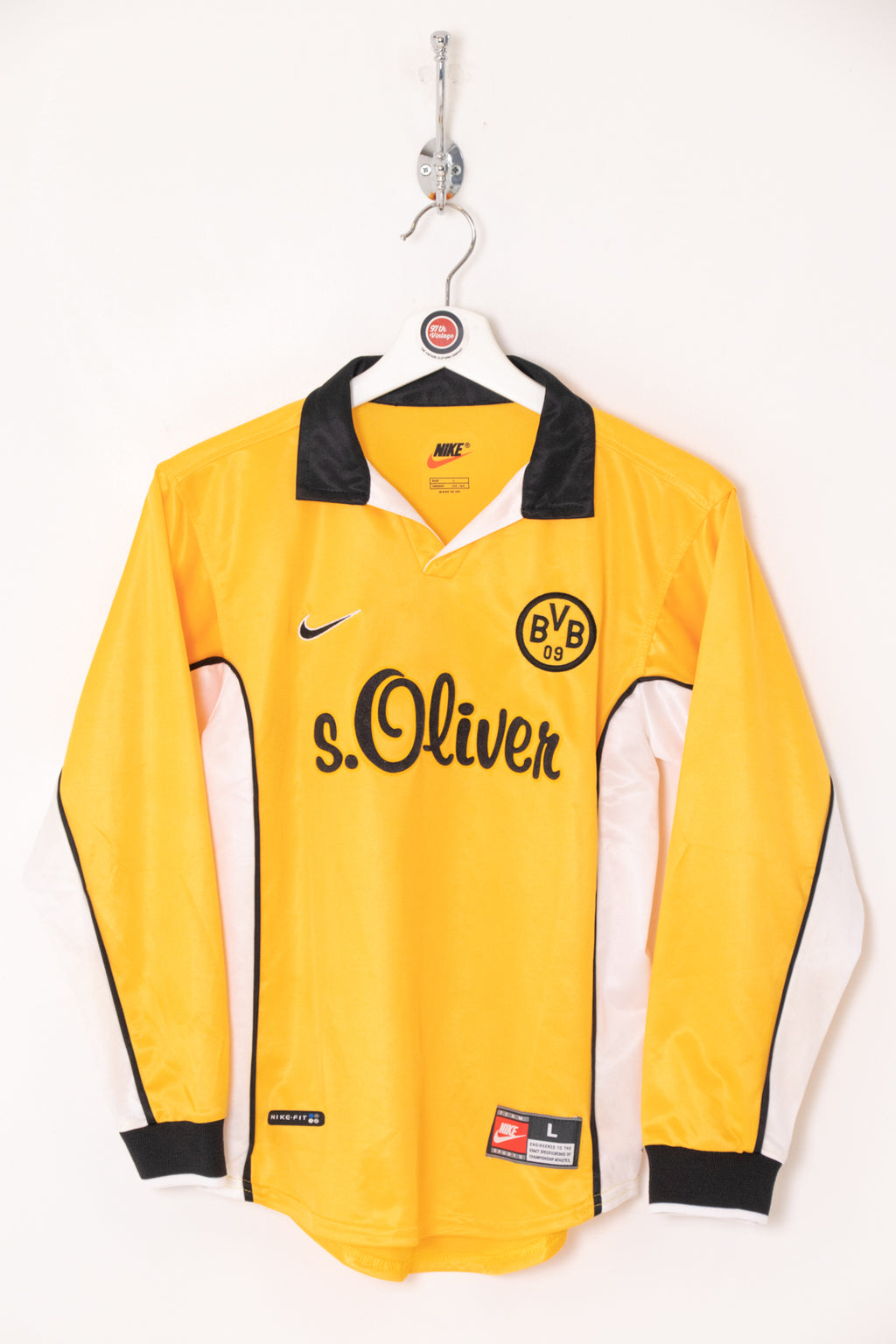 Kids 1998/00 Dortmund Football Shirt (L)
