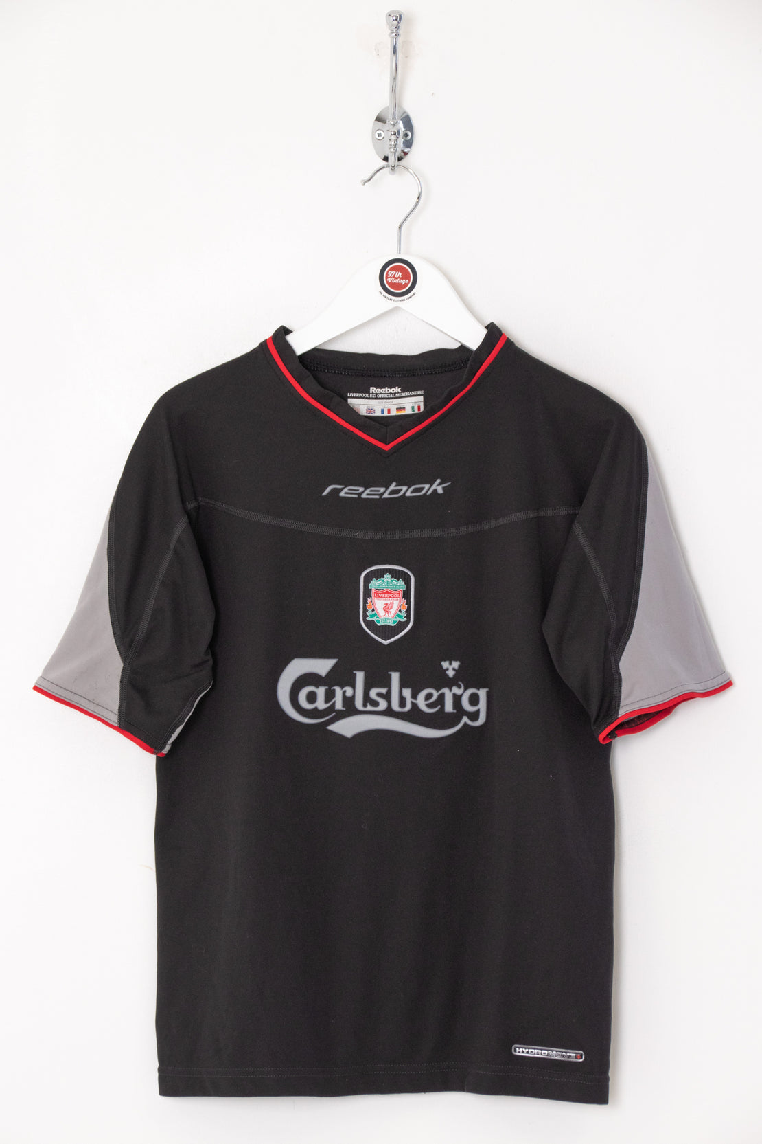 2002/03 Kids Liverpool Football Shirt (Age 12)