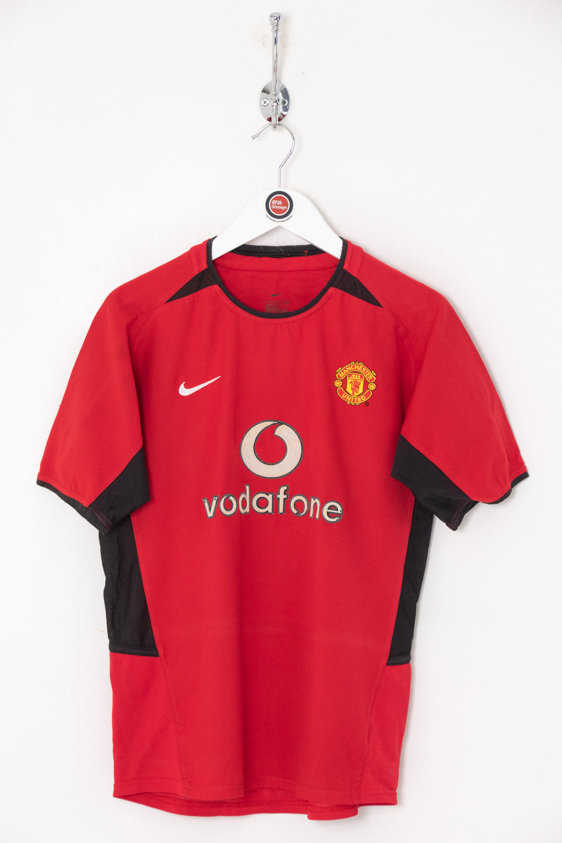 2002 Kids Manchester United Football Shirt (Age 12)
