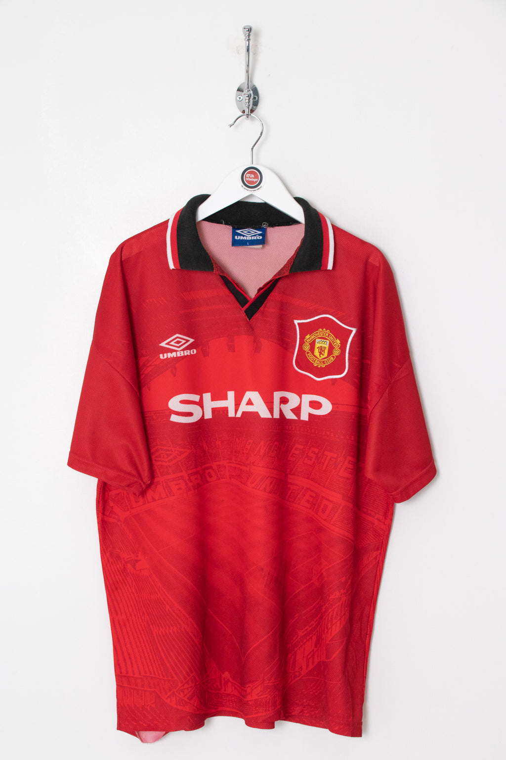 1994 Manchester United Football Shirt (L)