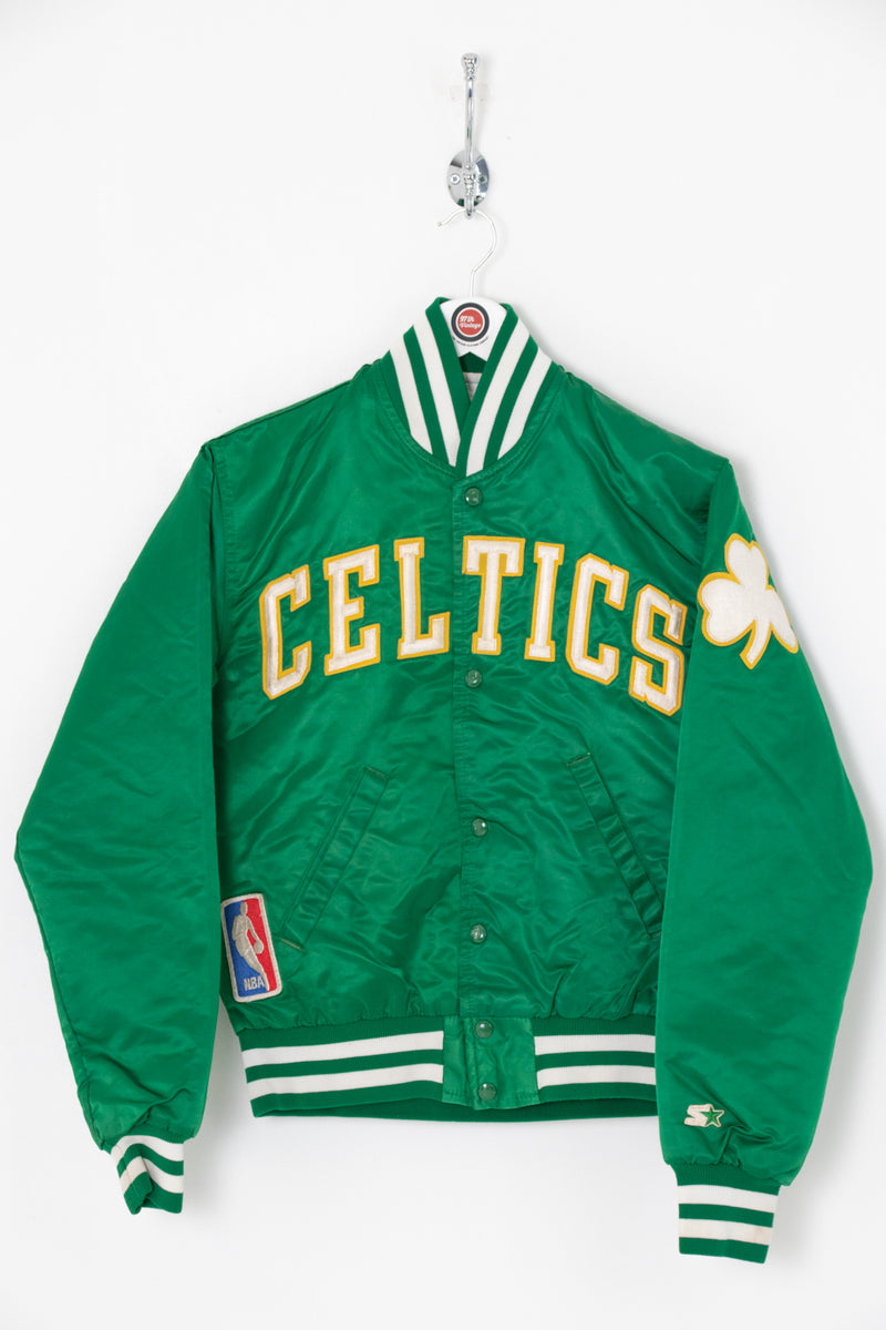 Women's Boston Celtics Satin Jacket (S)