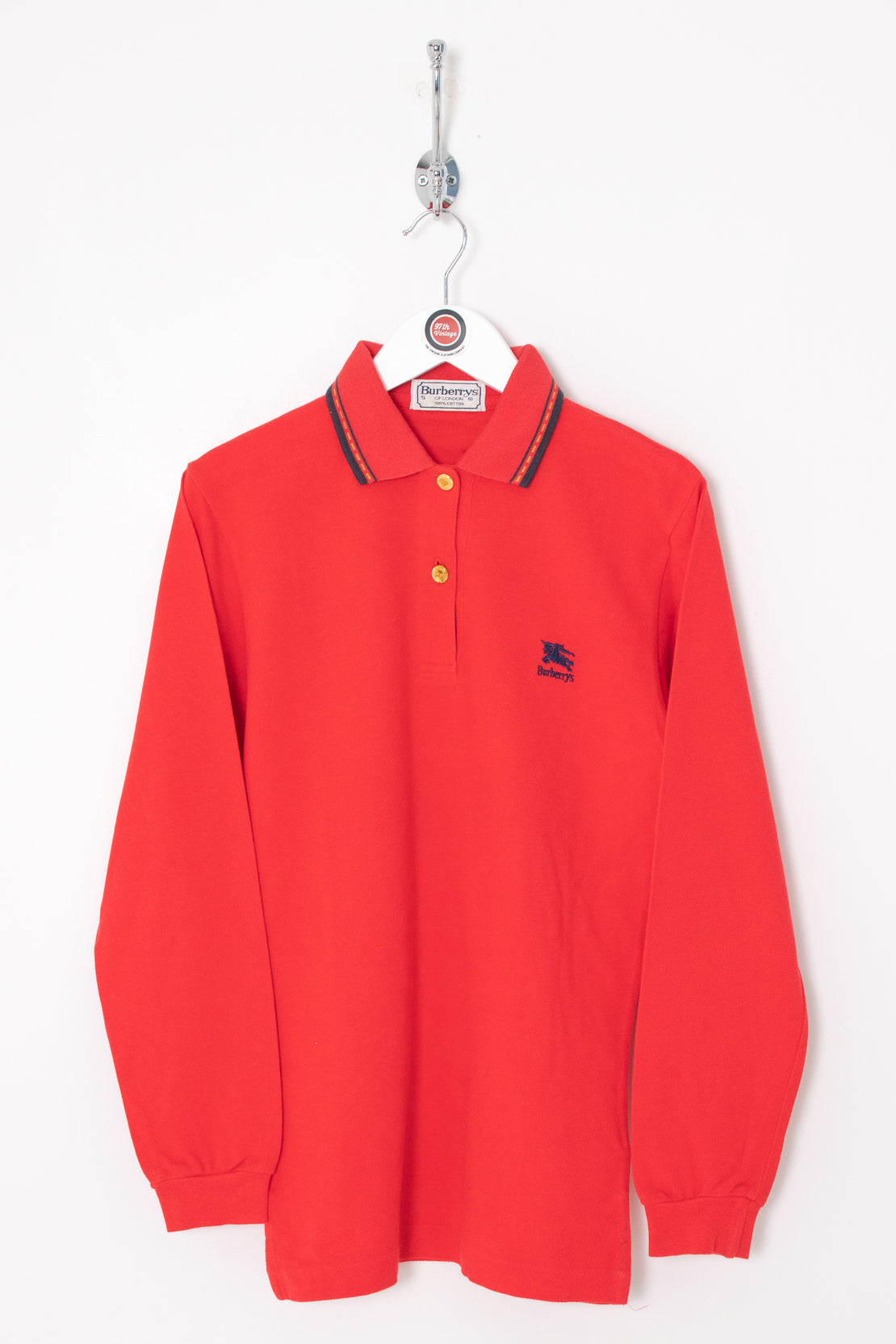 Burberry Longsleeve Polo Shirt (XS)