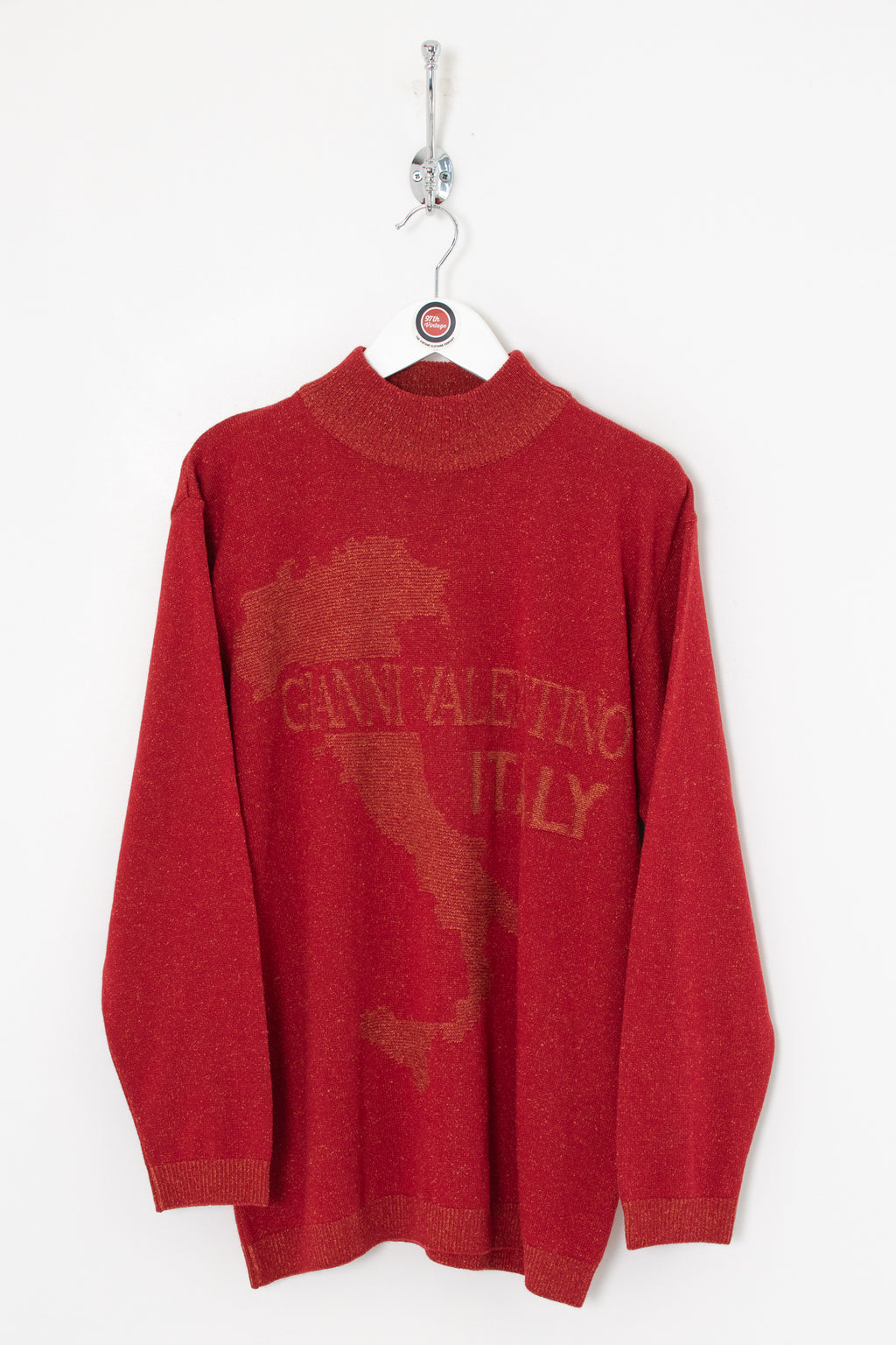 Valentino Mock Neck Jumper (M)
