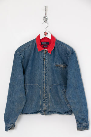 Ralph Lauren Fleece Lined Denim Jacket (S)