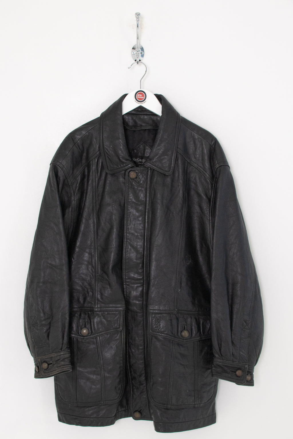 YSL Leather Jacket (L)