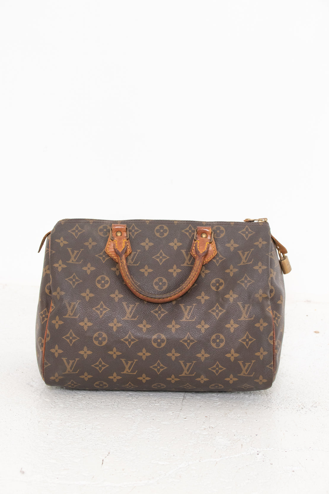 Louis Vuitton Monogram Speedy Boston Bag