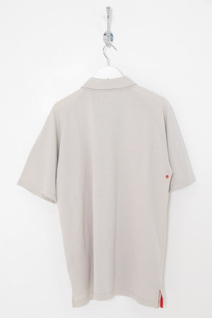 Prada 1/4 Zip Polo Shirt (M)