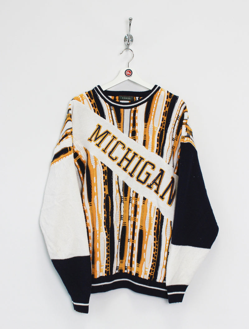 Michigan Wolverines Knitted Jumper (XXL)
