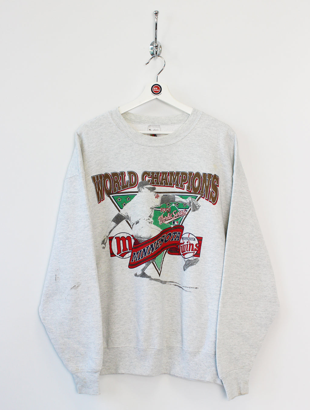 1991 Minnesota Twins MLB Sweatshirt (XL)