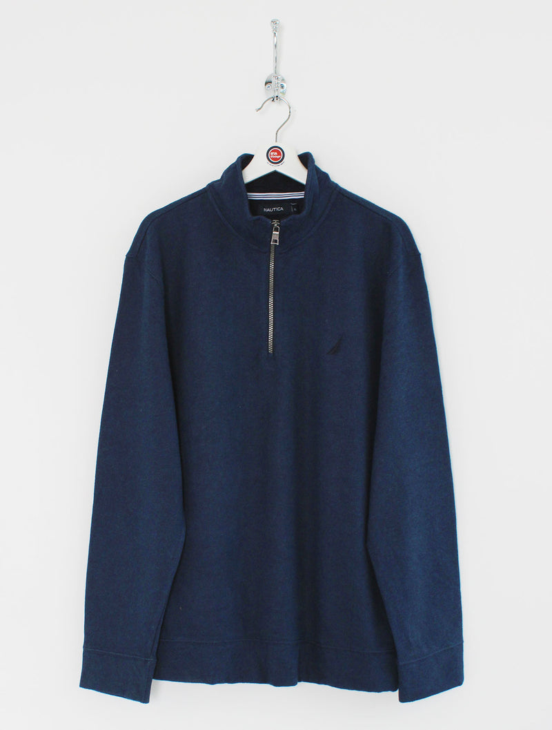 Nautica 1/4 Zip Sweatshirt (XL)