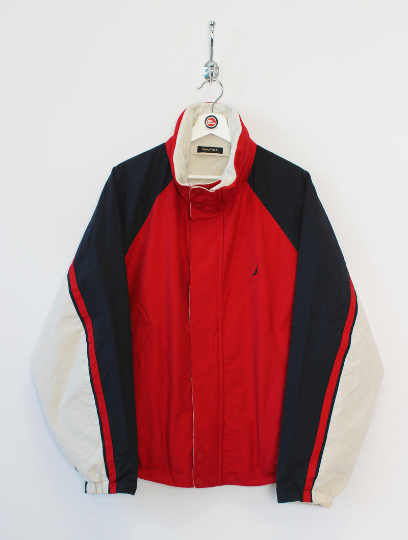 Nautica Reversible Fleece Coat (L)