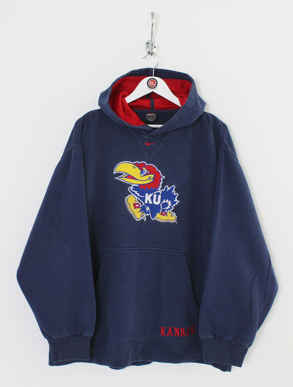 Nike University of Kansas Hoodie (XL)