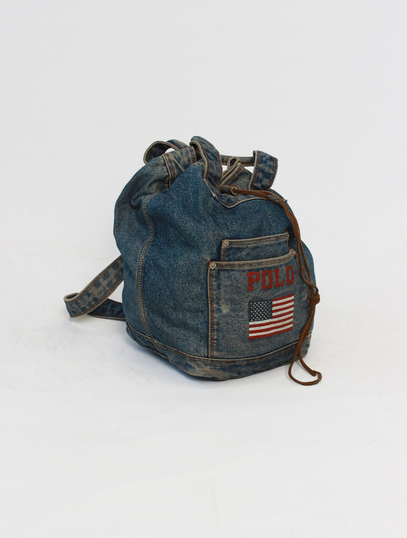 Ralph Lauren Polo Denim Bag
