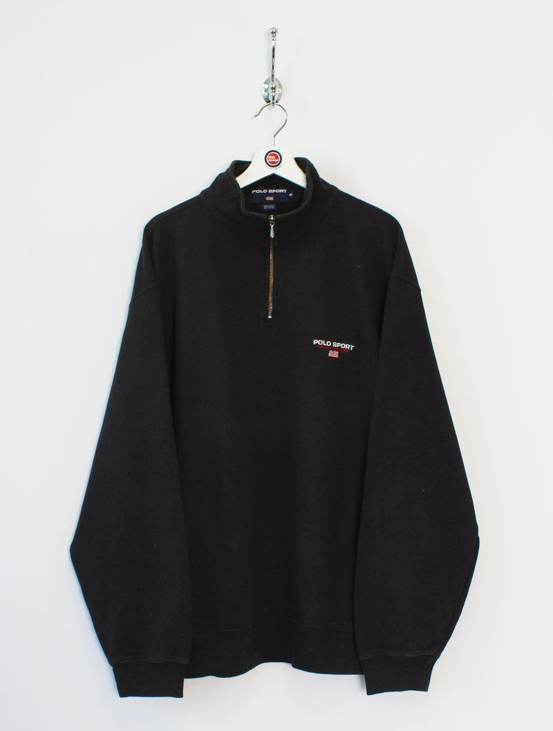 Ralph Lauren Polo Sport 1/4 Zip Sweatshirt (XL)
